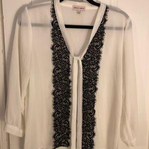 Adorable Sheer blouse